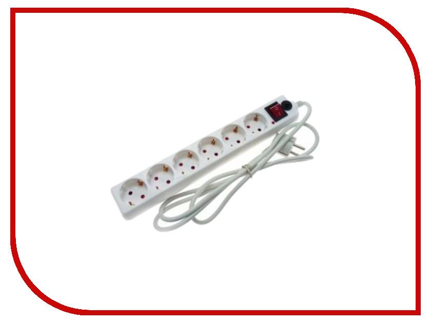 Сетевой фильтр Volsten SP 6x1.8 6 Sockets 1.8m 10651<br>