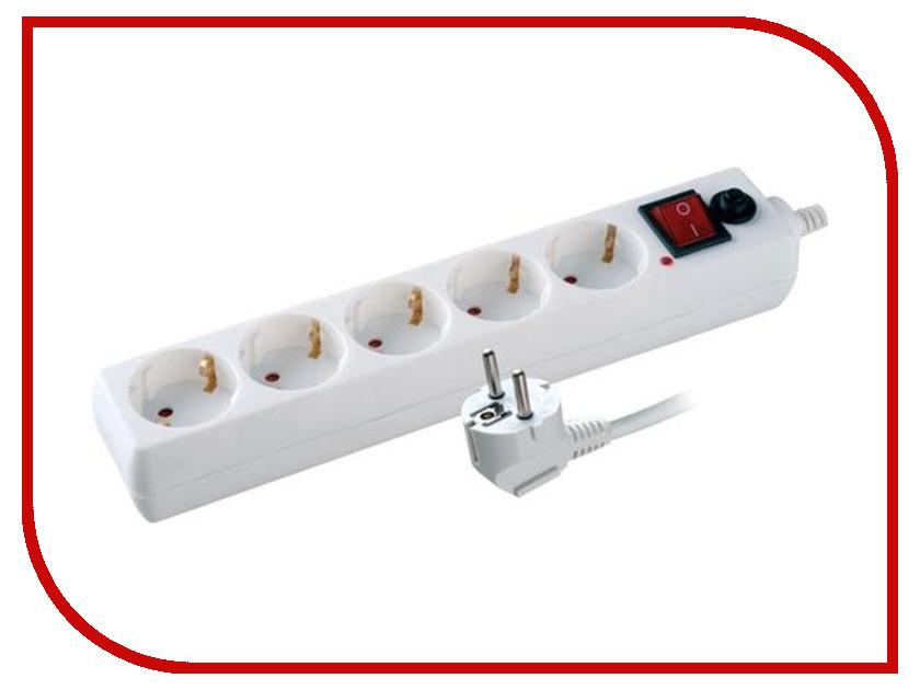 Сетевой фильтр Volsten SP 5x1.5 5 Sockets 1.5m 12304