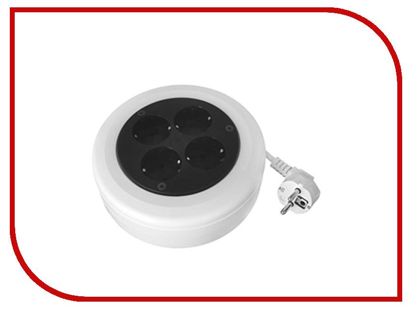Удлинитель Volsten SR 4x5-ZR 4 Sockets 5m УХз10-104 12435 бытовой удлинитель с заземлением volsten s 4x5 z 9317