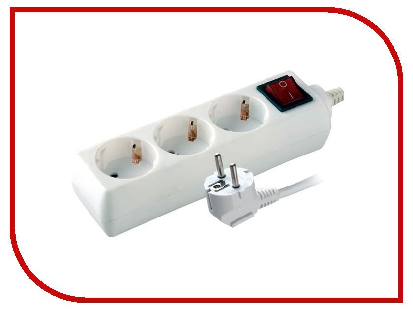 Сетевой фильтр Volsten S 3x1.5-ZDV 3 Sockets 1.5m 9327