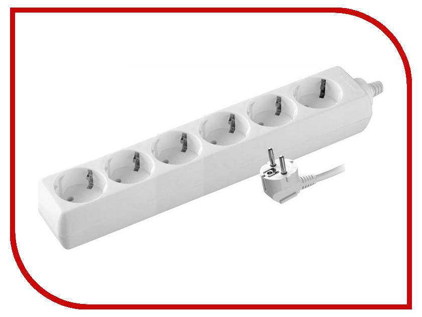 Удлинитель Volsten S 6x3-Z 6 Sockets 3m 9322  электрический удлинитель с заземлением volsten s 6x3 z 9322