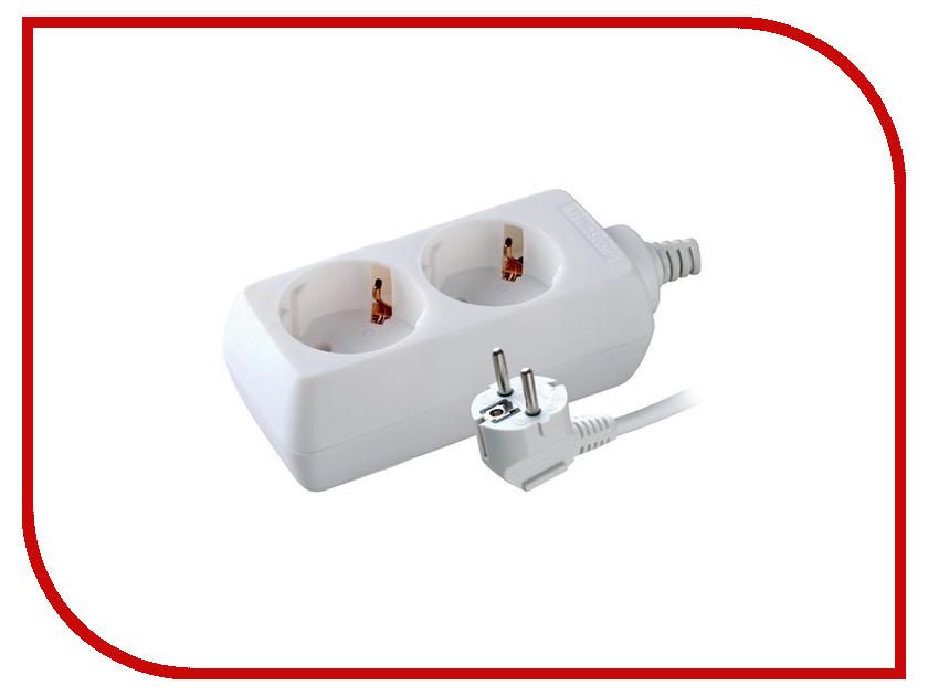 Удлинитель Volsten S 2x3-Z 2 Sockets 3m 9309 выключатель volsten v01 43 v11 s marin grey 9441