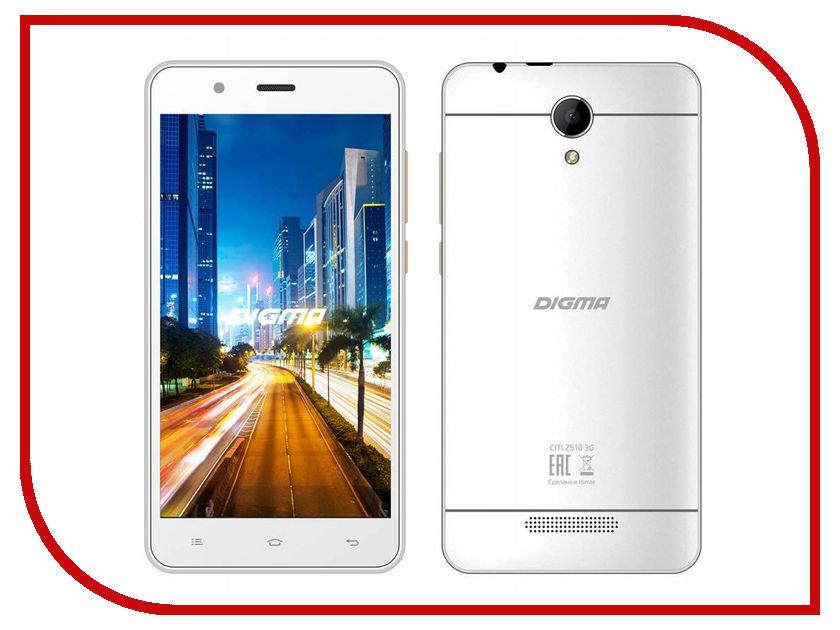 Сотовый телефон Digma CITI Z510 3G White