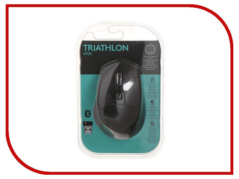 Мышь беспроводная Logitech M720 Triathlon 910-004791<br>
