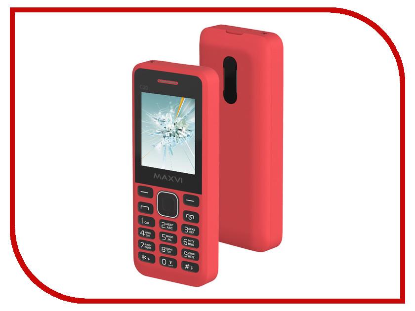 где купить Сотовый телефон Maxvi C20 Red дешево