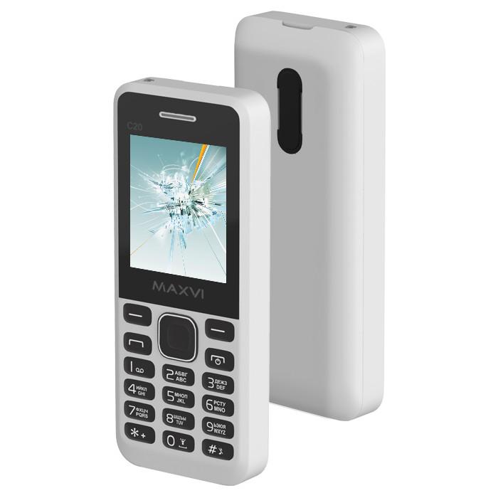 Сотовый телефон Maxvi C20 White