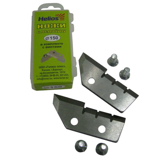 Ножи для ледобура Helios HS-150 ледобур helios hs 150d двуручный левый полукруглые ножи