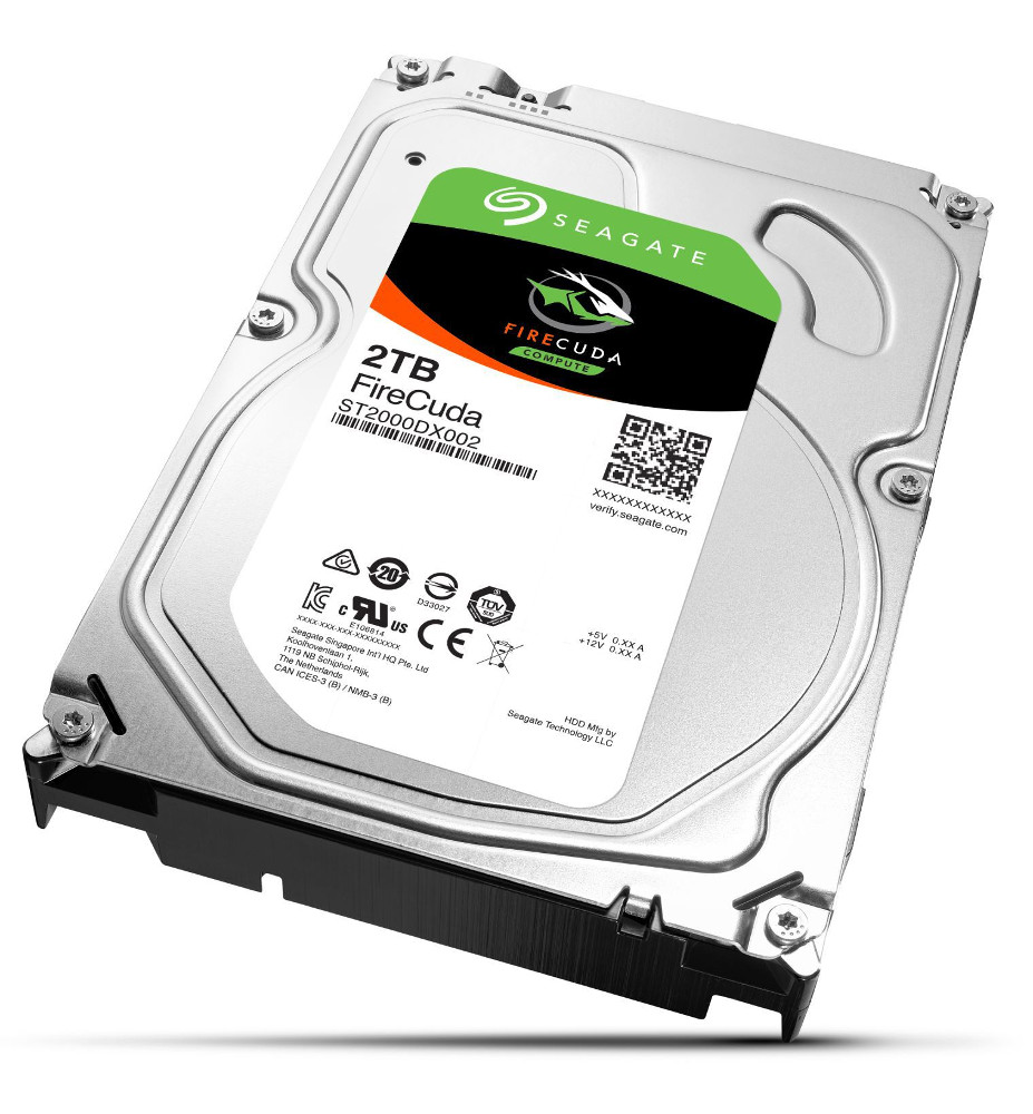 Жесткий диск Seagate FireCuda SSHD 2Tb ST2000DX002