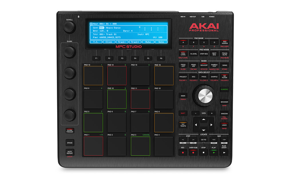 MIDI-контроллер AKAI pro MPC Studio Black
