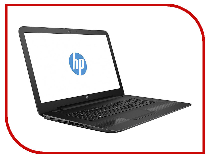 Ноутбук HP 17-y004ur W7Y98EA AMD E2-7110 1.8 GHz/4096Mb/500Gb/DVD-RW/AMD Radeon R2/Wi-Fi/Bluetooth/Cam/17.3/1600x900/DOS