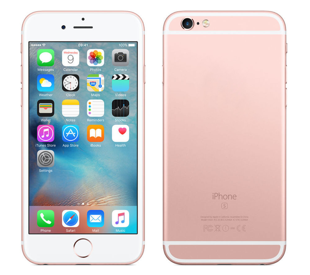 Сотовый телефон APPLE iPhone 6S - 32Gb Rose Gold MN122RU/A цена