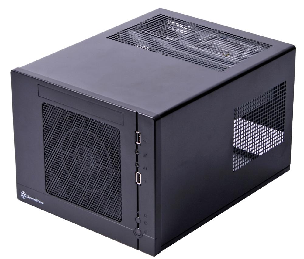 Корпус SilverStone SG05B-LITE Black все цены
