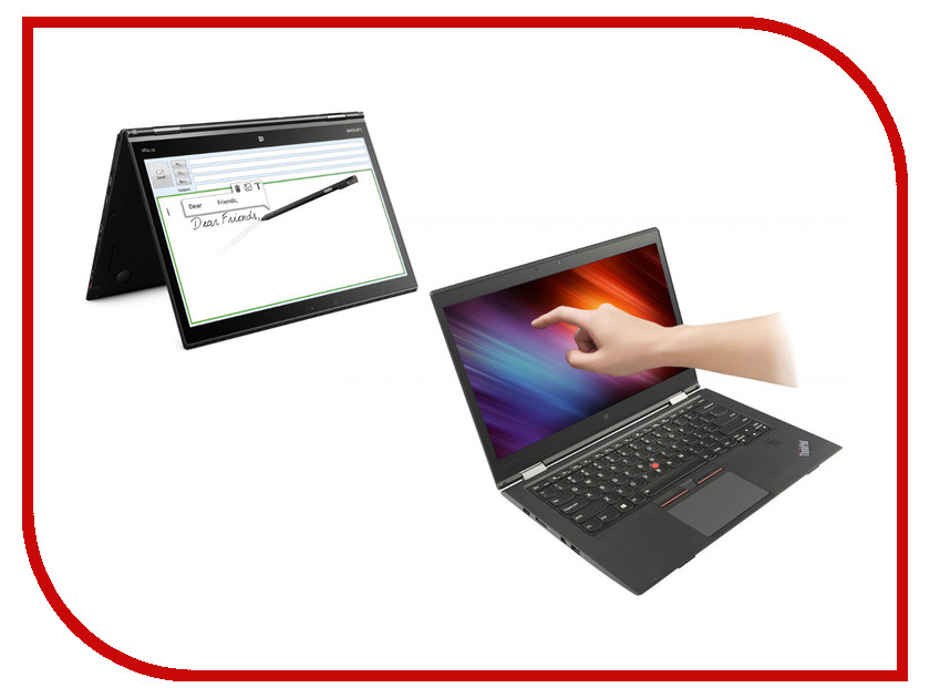 Ноутбук Lenovo ThinkPad X1 Yoga 20FQS00Y00 ноутбук трансформер lenovo thinkpad x1 tablet