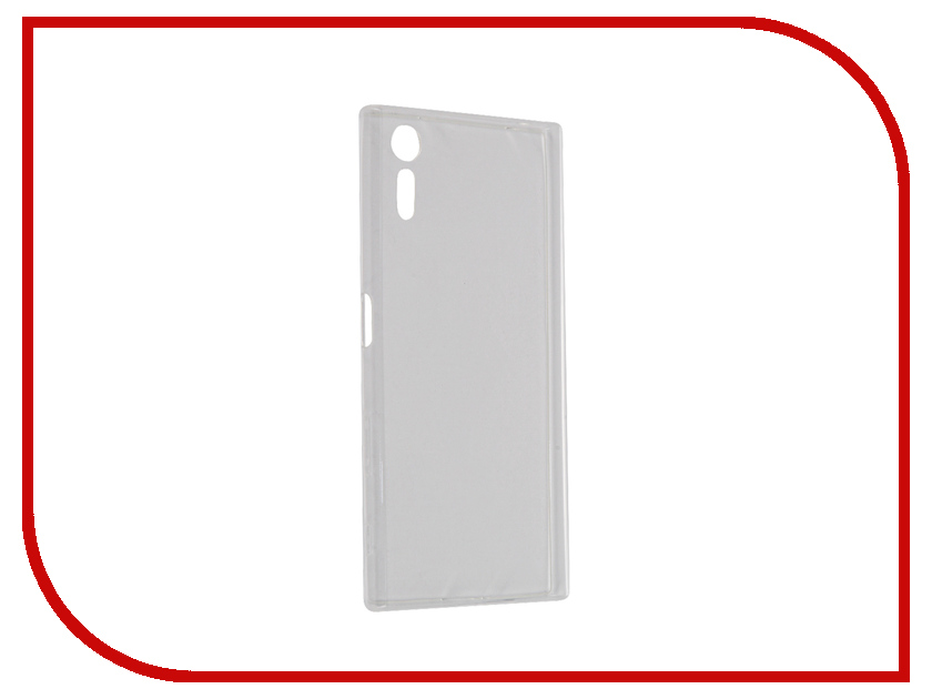 Аксессуар Чехол Sony Xperia XZ BROSCO силиконовый Transparent XZ-TPU-TRANSPARENT 1 transparent