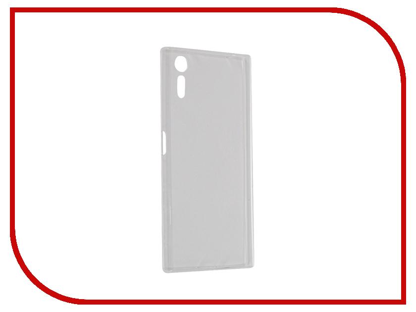 Аксессуар Чехол Sony Xperia XZ BROSCO силиконовый Transparent XZ-TPU-TRANSPARENT<br>