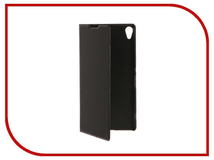 Аксессуар Чехол Sony Xperia XA Ultra BROSCO Black XAU-BOOK-BLACK<br>