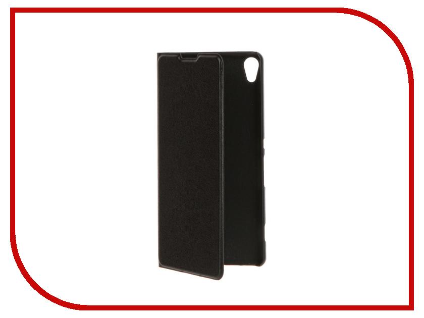 Аксессуар Чехол Sony Xperia XA BROSCO Black XA-BOOK-BLACK<br>
