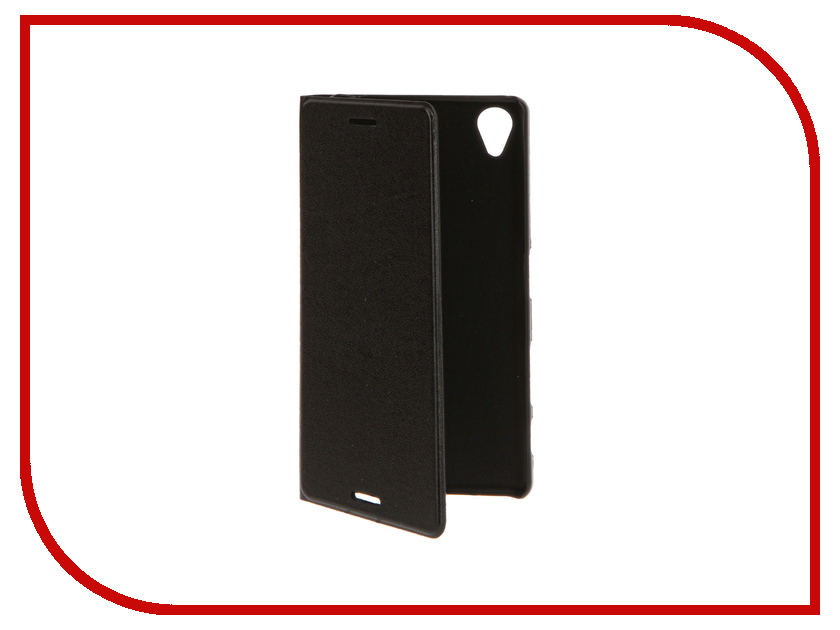 Аксессуар Чехол Sony Xperia X BROSCO Black X-BOOK-BLACK<br>