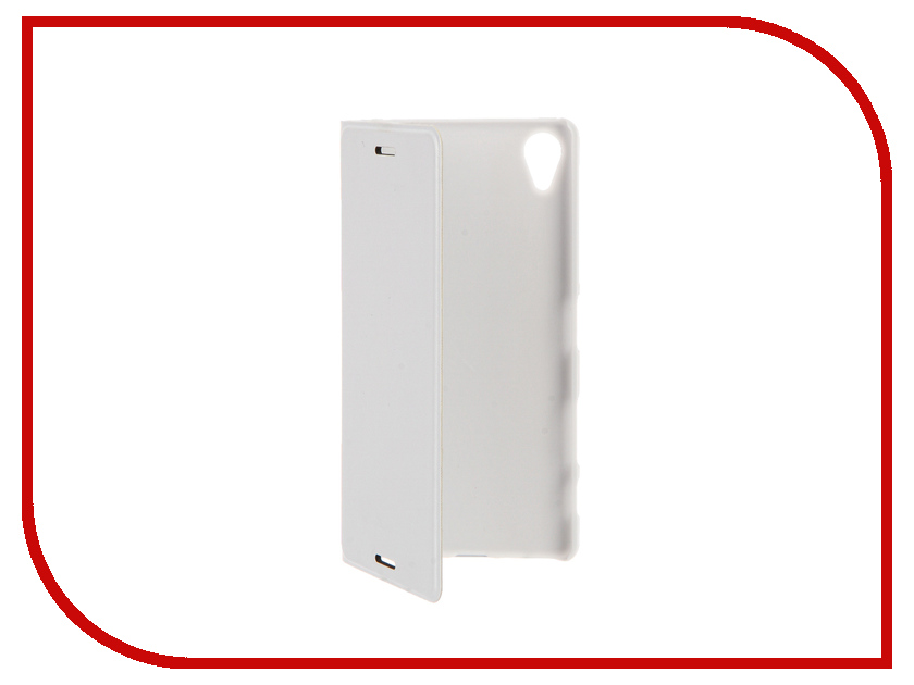 Аксессуар Чехол Sony Xperia X BROSCO White X-BOOK-WHITE<br>