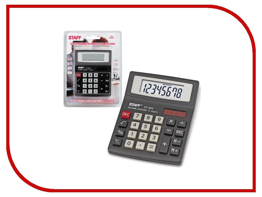 Калькулятор STAFF STF-8008 250207