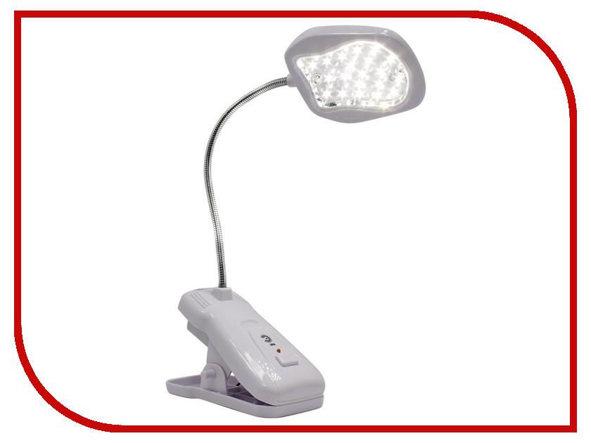 Настольная лампа Эра NLED-420-1.5W-W White Б0003728 эра эра наст светильник nled 420 1 5w bu синий 10 40 320