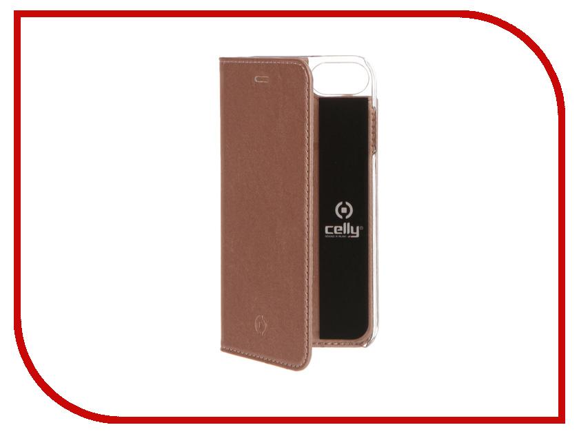 Аксессуар Чехол Celly Air Case для APPLE iPhone 7 Pink Gold AIR800RG<br>