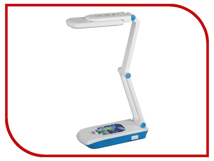 Настольная лампа Эра NLED-423-3W-BU Blue Фиксики Б0016266 эра эра наст светильник nled 420 1 5w bu синий 10 40 320
