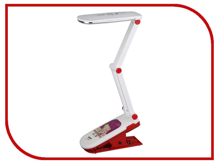 Настольная лампа Эра NLED-424-2.5W-R Red Фиксики Б0016269 настольный светильник эра фиксики nled 424 2 5w bu цвет синий