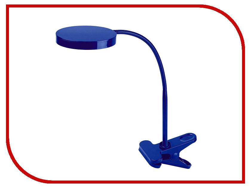 Настольная лампа Эра NLED-435-4W-BU Blue Б0004479 эра эра наст светильник nled 420 1 5w bu синий 10 40 320