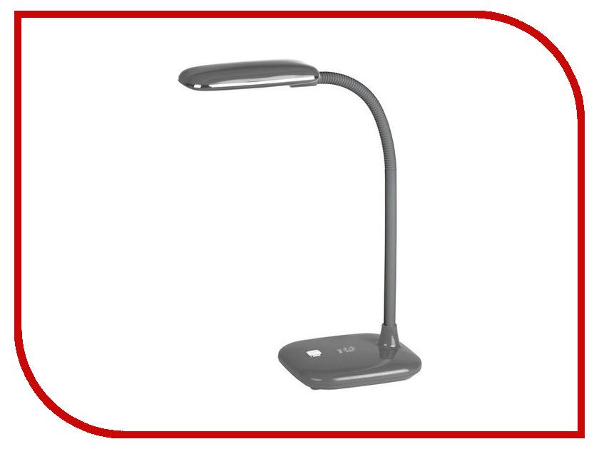 Настольная лампа Эра NLED-450-5W-GY Grey Б0018826 эра эра наст светильник nled 420 1 5w bu синий 10 40 320