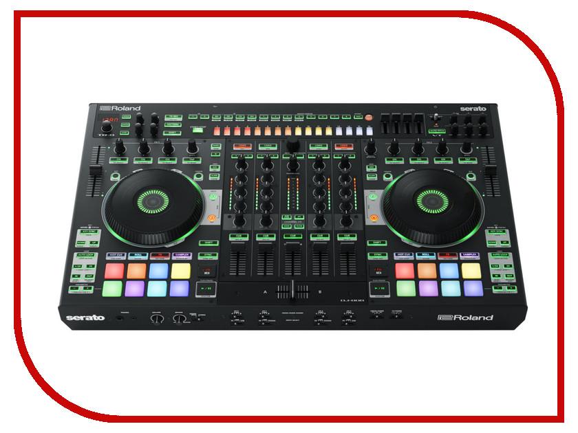 Dj контроллер Roland DJ-808 хай хэт и контроллер для электронной ударной установки roland fd 9 hi hat controller pedal