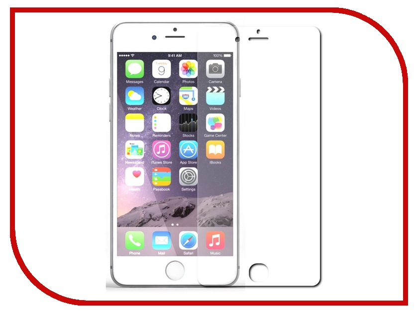 Аксессуар Защитное стекло APPLE iPhone 7 Litu 0.26mm аксессуар защитное стекло onext 3d для apple iphone 7 red 41325