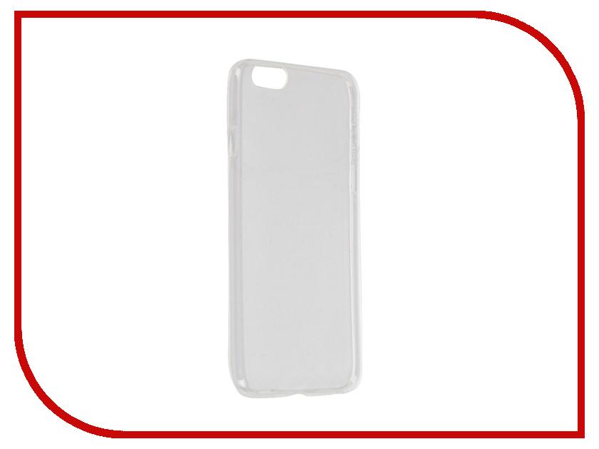 Аксессуар Чехол Deppa GelCase для iPhone 6 / 6S прозрачный + защитная пленка 85202<br>