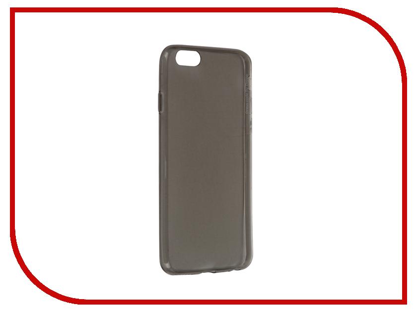 Аксессуар Чехол Deppa GelCase для iPhone 6 / 6S Black прозрачный + защитная пленка 85203<br>