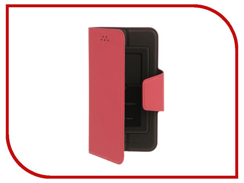 Аксессуар Deppa Wallet Slide M 4.3-5.5 Pink 84049<br>