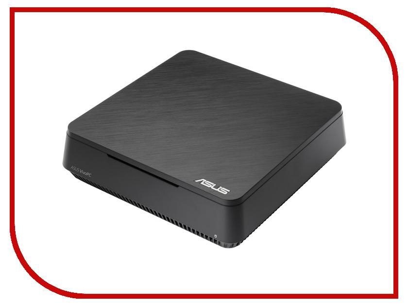 Неттоп ASUS VivoPC VC60-B268Z Black 90MS0021-M02680 Intel Core i3-3110M 2.4 GHz/4096Mb/128Gb SSD/Intel HD Graphics 4000/Wi-Fi/Bluetooth/Windows 10<br>