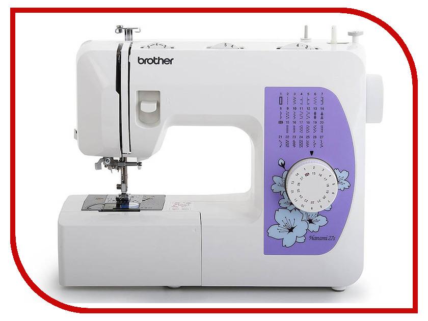 Швейная машинка Brother Hanami 27S швейная машинка brother sl10