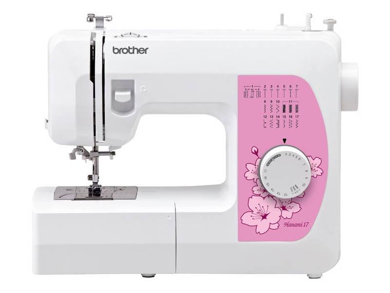 Фото - Швейная машинка Brother Hanami 17 швейная машинка brother hanami 27s