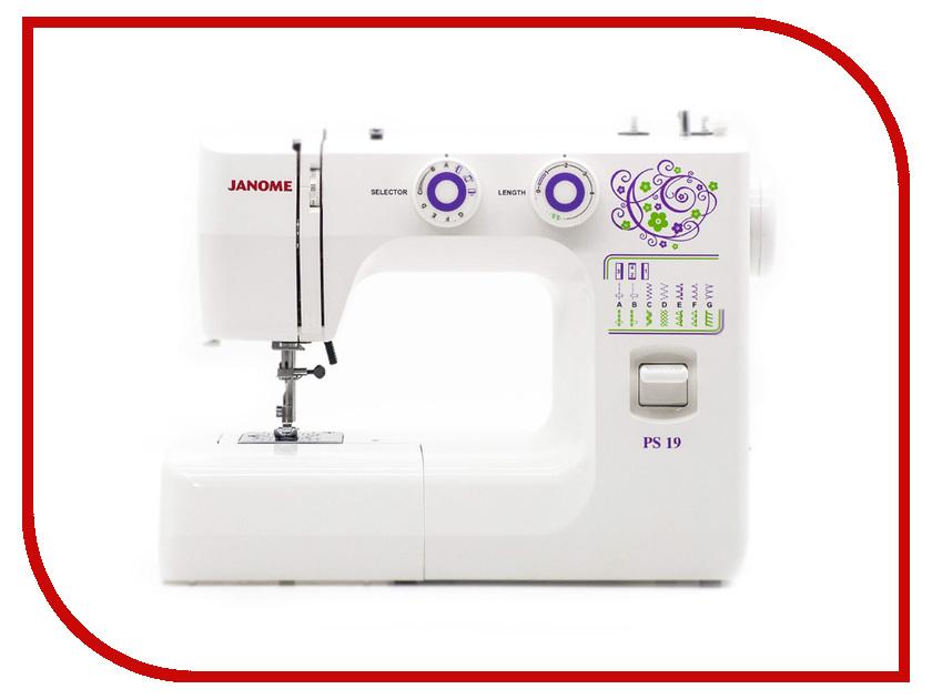 Швейная машинка Janome PS 19 швейная машинка janome sew mini deluxe