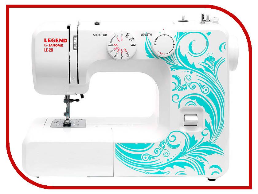 Швейная машинка Janome Legend LE-25 швейная машинка janome legend le 25