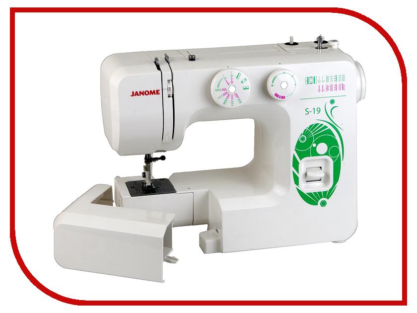 Швейная машинка Janome S-19<br>