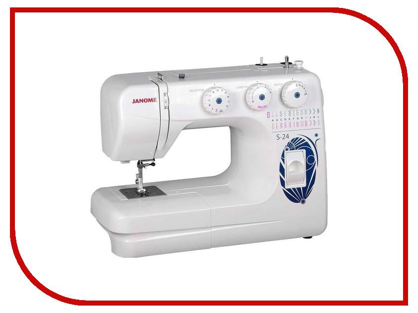 Швейная машинка Janome S-24