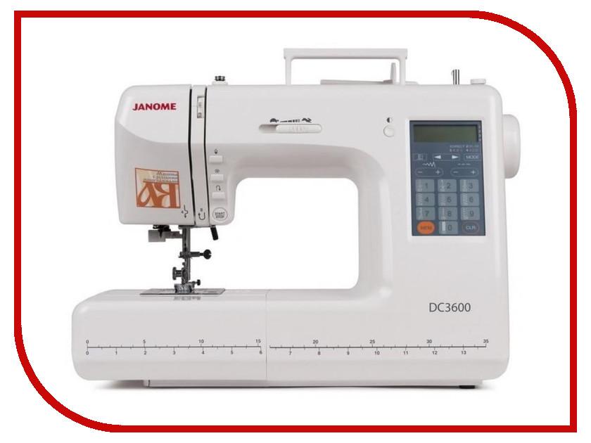 Швейная машинка Janome DC 3600<br>