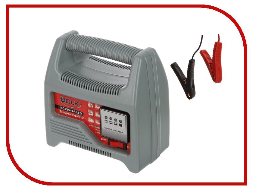 Зарядное устройство для автомобильных аккумуляторов BOLK BC12V-4A LED BK34009<br>