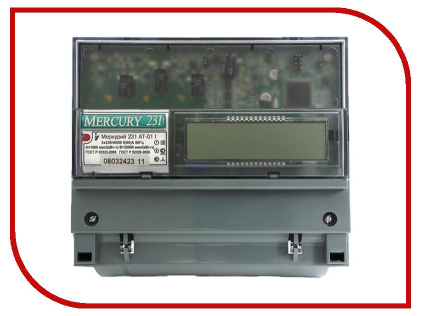 Счетчик электроэнергии Меркурий 231 AT-01I 5-60A 380В<br>