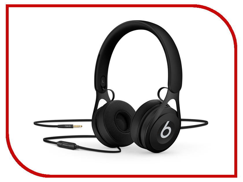 Beats EP On-Ear Headphones Black ML992ZE/A наушники beats ep on ear headphones black ml992ze a