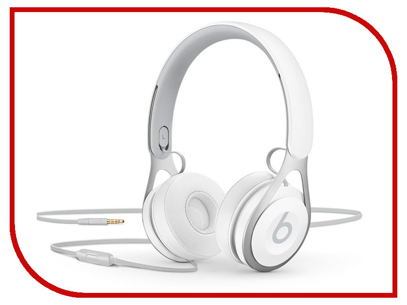 Гарнитура Beats EP On-Ear Headphones White ML9A2ZE/A