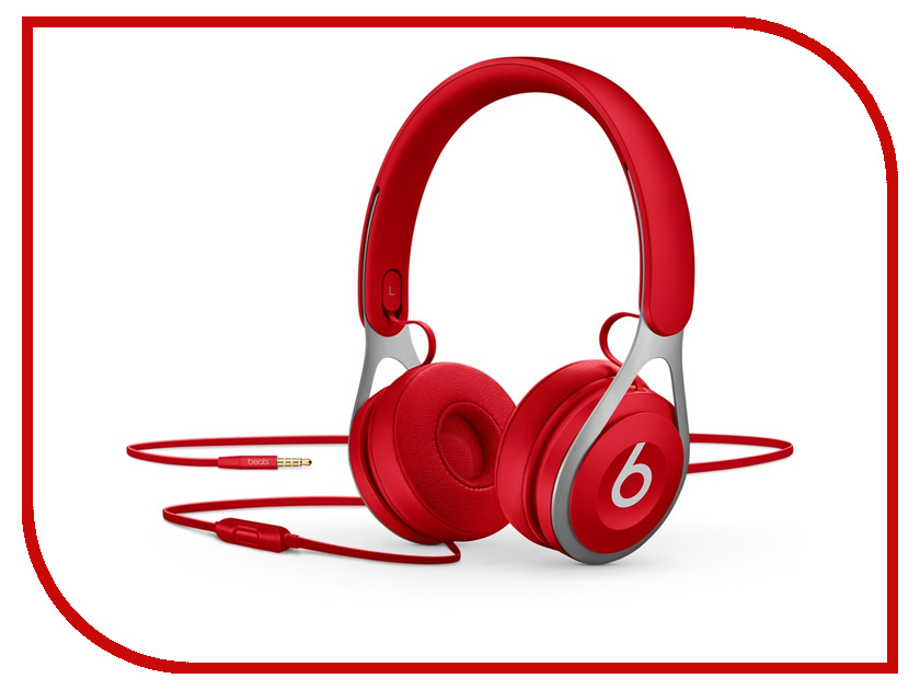 цена на Beats EP On-Ear Headphones Red ML9C2ZE/A