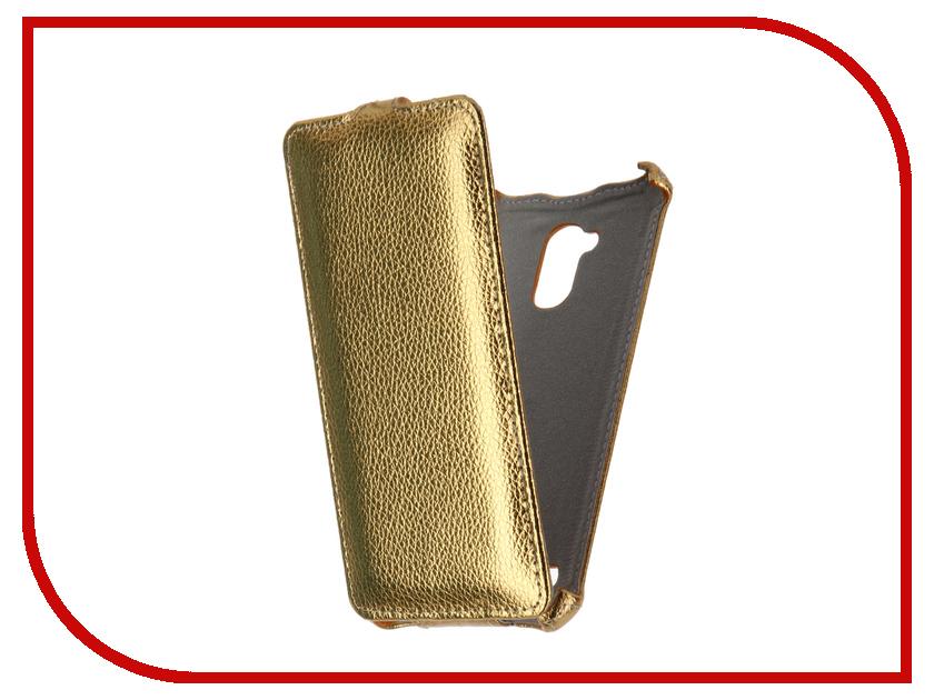 Аксессуар Чехол ZTE Blade V7 Lite Gecko Gold GG-F-ZTEBLV7-GOLD<br>