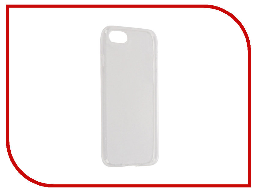Аксессуар Чехол Gecko для APPLE iPhone 7 (4.7) Transparent-White S-G-IP7-WH<br>